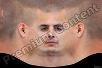 0003 Young man head premade texture 0003