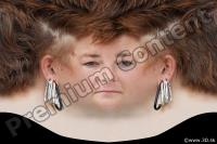 0007 Woman head premade texture 0007