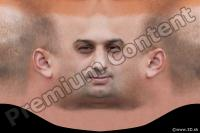 0006 Man head premade texture 0006