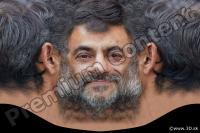 0005 Man head premade texture 0005