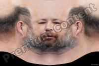 0001 Man head premade texture 0001