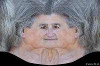 0005 Woman head premade texture 0005